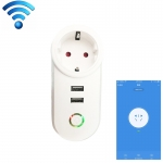 OEM C178 Smart Wifi Plug Wireless Socket ,2 USB,Timing ,Remote Control by Smartphone,Voice Control